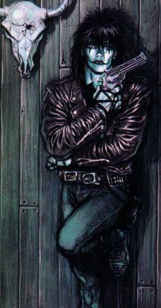 Eric in The Crow Comic