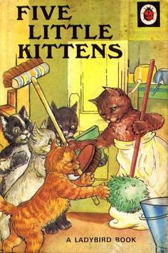Five Little Kittens, W. Perring (illustrated by A.J. MacGregor)