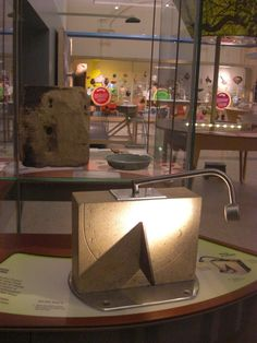 This was a replica sun dial , I had it carved from real stone with a low voltage light to replicate the sun.