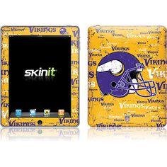 Vikings iPad skin
