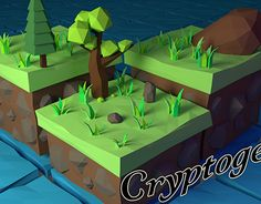 Low Poly Scene – Isometric island Created on with Blender Software) Asset – Game Development – Digital Art Mini project for testing a colored light system. 3 Point Lighting, Low Poly Games, 3d Assets, Blender 3d, Scene, Island, Artwork, Artist, Projects