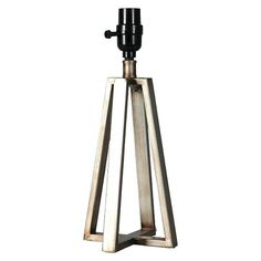 Threshold™ Linear Lamp Base Small - Pewter