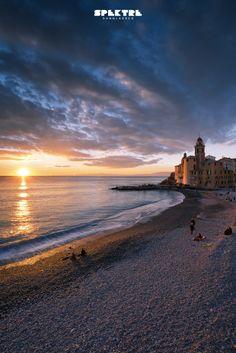 Postcard from Camogli, Italy.