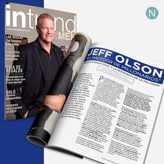 Great Leadership never goes unnoticed! Nerium's CEO and Founder Jeff Olson was featured in the latest issue of InTrend For Men Magazine! #epicfreedom #workfromhome #extraincome bennettdt.nerium.com