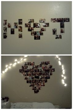 a cute dorm/room idea. When in a relationship.