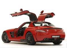 2011 Brabus Mercedes Benz SLS AMG Widestar