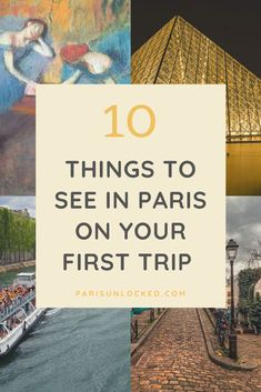If it's your first time visiting #Paris, read our full guide to the 10 best things to see & do. These places and activities are all iconic, but the guide helps you dig deeper to discover the fascinating #history and mystery behind each. #France #Europe #travel #traveltips #Parisattractions #bestofparis #paristravelguide