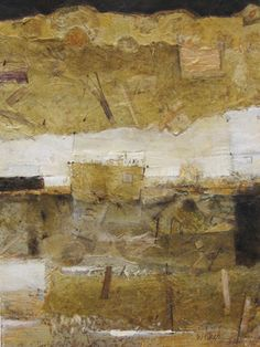 Touch of Gold 3 Mixed Media on Paper