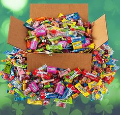 Amazon.com : Saint Patrick's Day Bulk Candy - HUGE Candy Assortment Party Mix - 6.5 Pounds - OVER 350 Pieces of Individually Wrapped Candy : Grocery & Gourmet Food Gourmet Recipes, Snack Recipes, Individually Wrapped Candy, Bulk Candy, Party Mix, 5 Pounds, St Patricks Day, Amazon, Food