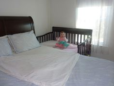 Living with a Lily: Sidecar'd bed and bed sharing