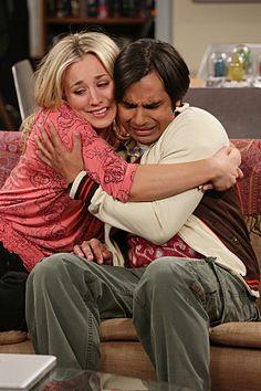 The Big Bang Theory Bon Voyage Reaction Cuoco Nayyar - P 2013 Big Bang Theory Characters, The Big Theory, Barenaked Ladies, Amy Farrah Fowler, Kaley Cuoco, Film Serie, Bigbang, Favorite Tv Shows, Bangs