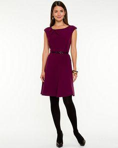 Le Château: Double Weave Fit & Flare Dress | Worn on Arrow (Felicity Smoak)