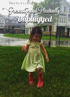 Presently and Pleasantly Unplugged | Parenting from the Heart #socialmedia #smartphone #addiction #beingpresent #lifelessons #parenthood