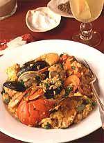 Seafood Paella  - CountryLiving.com