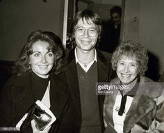 John with his wife Annie Martel-Deutschendorf and his mother, Erma Deutschendorf. You see where John got his smile from!