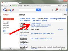 """You can resolve your query by following these steps.   Ø  First, you need to log in to your Gmail account. Ø  Enter your User name and Password, and click """"Sign in"""" option. Ø  After login to your account, You can see """"Gear"""" button at right corner of your screen. Click at that option. Ø  Now you need to click on """"Setting"""" option. Ø  After that you have to select """"Accounts and Import"""" option. Ø  You can see """"Change Password"""". Click on that option visit here www.99webmail.com"""