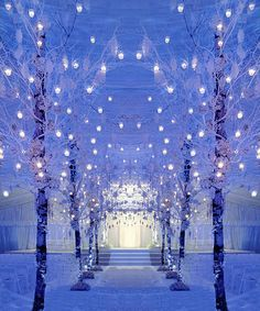 winter wonderland wedding | Winter Wonderland Ceremony | Inspirations