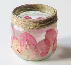 DIY Flores secas - flores con alambre y esmalte