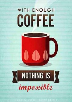 With enough coffee we can tackle Mondays, and be more socially responsible!