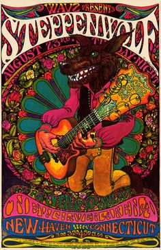 Steppenwolf - New Haven CT....1969