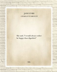 Wall  Art, Art Print, Classic Book Page,  Book Page Print, Jane Eyre, Charlotte Bronte, Literary Print, Jane Eyre Novel, Christmas Gift Book Page Art, Book Pages, Book Quotes, Me Quotes, Poetry Art, Recycled Clothing, Recycled Fashion, Christmas Books, Classic Books