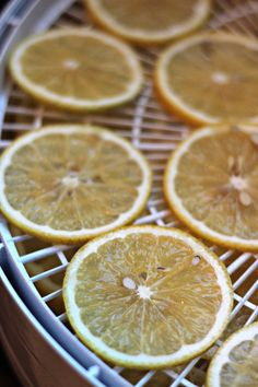 Dehydrating Lemons to Preserve Them | Oysters & Pearls