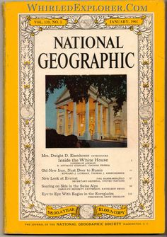 National Geographic, January 1961