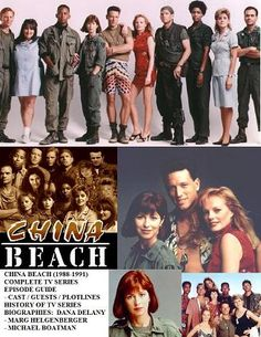 China Beach with Dana Delaney, Marg Helgenberger, Robert Picardo and Jeff Kober Music Tv, Good Music, China Beach, Vintage Television, Opening Credits, Tv Station, Tv Land, First Tv, Great Tv Shows