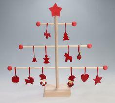 Scandinavian Ornament Tree