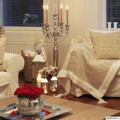 Lovingwhitestyle olohuone - Sisustuskuvia jäseneltä marjutkeskikorpi - StyleRoom