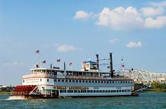 You've never seen a Southern Belle like this...  she's 98 years old and still going strong! The Belle of Louisville steamboat sails along the Ohio River in Louisville, KY.