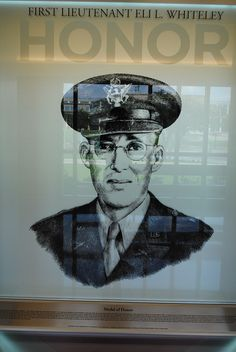 Eli Lamar Whiteley - Georgetown, TX , Texas A: (December 10, 1913 – December 2, 1986) was a Captain in the United States Army who received the Medal of Honor for his actions in Sigolsheim, France during World War II. By his disregard for personal safety, his aggressiveness while suffering from severe wounds, his determined leadership and superb courage, 1st Lt. Whiteley killed 9 Germans, captured 23 more and spearheaded an attack which cracked the core of enemy resistance in a vital area.