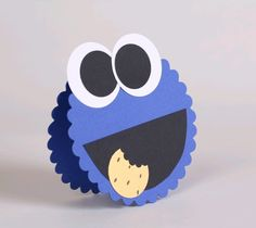 Adorable Cookie Monster Invite Card!!!