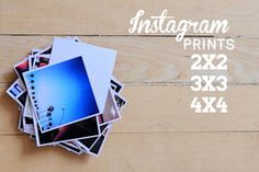YES! FINALLY! A place that can print Instagram Prints in 2x2 and 3x3!!! Persnickety Prints.