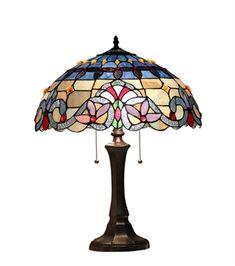 "CHLOE Lighting CH33381VB16-TL2 Table Lamp ""ABIGALE"""
