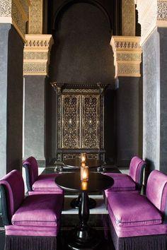 Regal #dining #chairs #interior #design #velvet #bohemian #regal