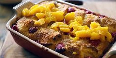Raspberry Orange Bread and Butter Pudding Recipe   Lifestyle