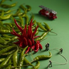 Warming up for Miniature Monday: Miniature Worlds in Food Art - Great British Chefs