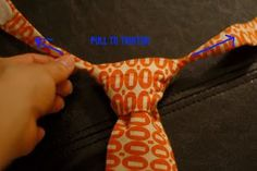 Very Homemade: Little Man Tie Tutorial