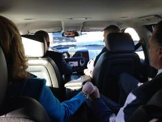 "Mitt and Ann Romney on their way to vote in Massachusetts.     Photo via ""Mitt's Body Man"" @Deborah Jackson on Twitter    Photos: Voting Around America http://abcn.ws/RGj01L"