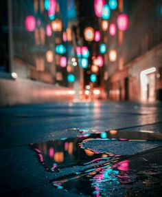 get off my phone wallpaper magical street lights in a puddle magical street lights in a puddle Bokeh Photography, Urban Photography, Night Photography, Creative Photography, Amazing Photography, Street Photography, Landscape Photography, Photography Reflector, Photography Books