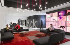 Shutterstock sede Manhattan. Design: Shutterstock's inhouse team and Studios Architecture