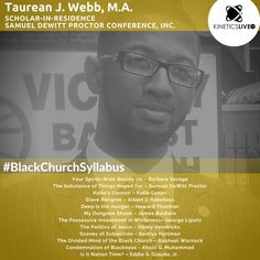 Taurean Webb shares his reading list for the Howard Thurman, Black Church, Reading Lists, Investing, Gray, Learning, Yellow, Grey, Study
