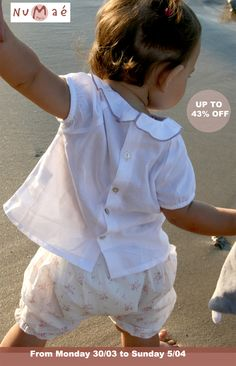Numaé childrenswear Flashsale from Monday 30/03 to Sunday 5/04/15 - Up to 43% Off