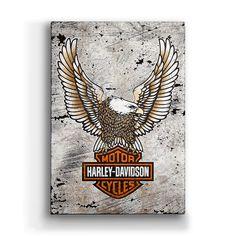 "Mega Stencil Classic Harley Davidson Shield /& Eagle for the DIY Biker 18/"" x 26/"""