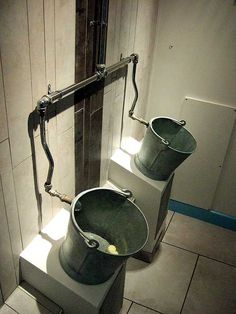 Funny/Weird urinals  Bucket urinals