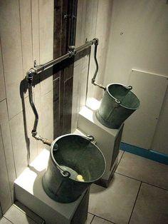 Funny/Weird urinals  Bucket urinals