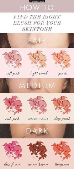 Conhecer seu tom de pele te ajudará a construir uma paleta de cores que funcion