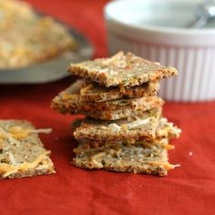 Cheddar Jalapeno Crackers – Low Carb and Gluten-Free