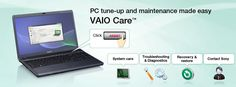 Featuring an intuitive point-and-click interface, this new software simplifies basic maintenance and troubleshooting tasks to keep your VAIO in good shape.